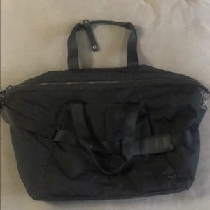 Large Lululemon gym duffle